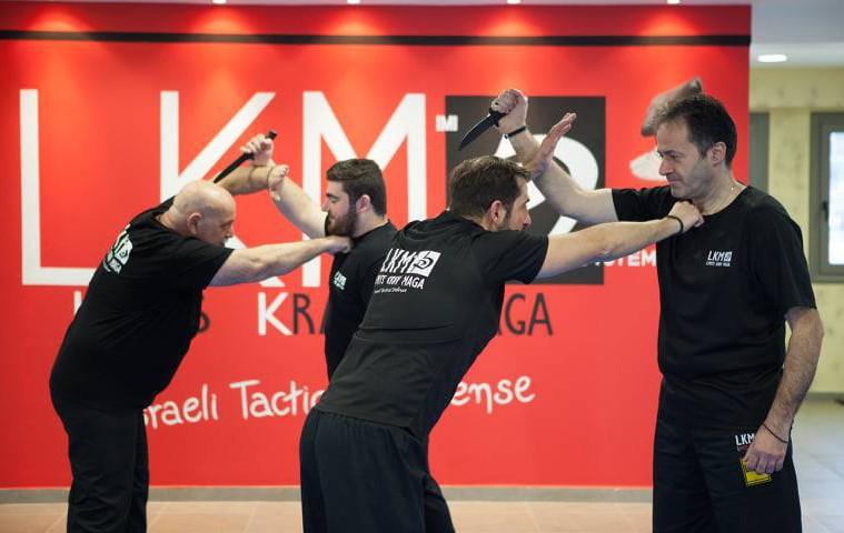 Το έγκριτο curriculum Krav Maga από την LKM